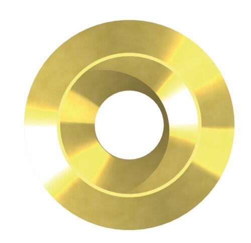 REISSER Vollrosetten Rosette für HBS Holzbauschrauben RN9411 Stahl verzinkt gelb