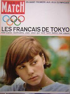Paris-Match-No-No-0808-Games-Olympics-Tokyo-Jazy-Kiki-Caron-Gottvalles-1964
