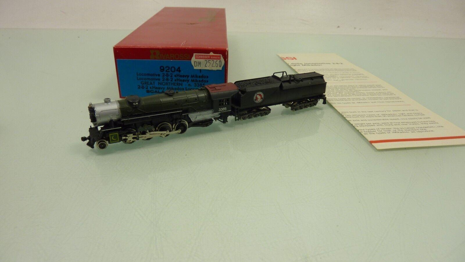 Rivarossi Spur N 9204 Dampflok BR 3385 der Northern Railway in OVP (RB4488)  | Neu