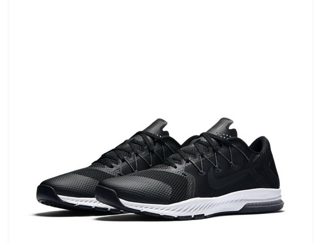 Nike Zoom Train Complete Black White Men Cross Training Shoes ... d142bf719