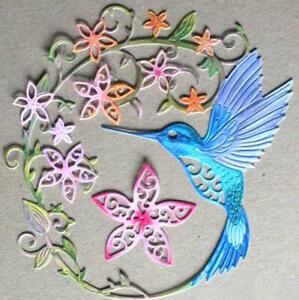 Hummingbird-Metal-Corte-muere-Craft-albumes-de-recortes-elaboracion-de-tarjetas-en-relieve-Die-Cut