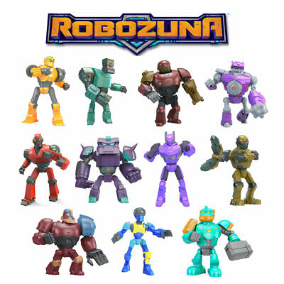Robozuna Battle N Build 6.5cm Figures *Choose Your Favourite*