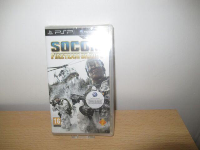 PSP SOCOM: Fire Team Bravo 3   UK Pal,  New & Sony Factory Sealed