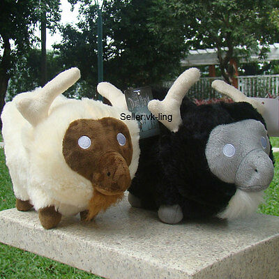 "Don/'t Starve Plush Toy Sheep Cattle Beefalo 11/"" Stuffed Animal Doll Gift Set 2ps"