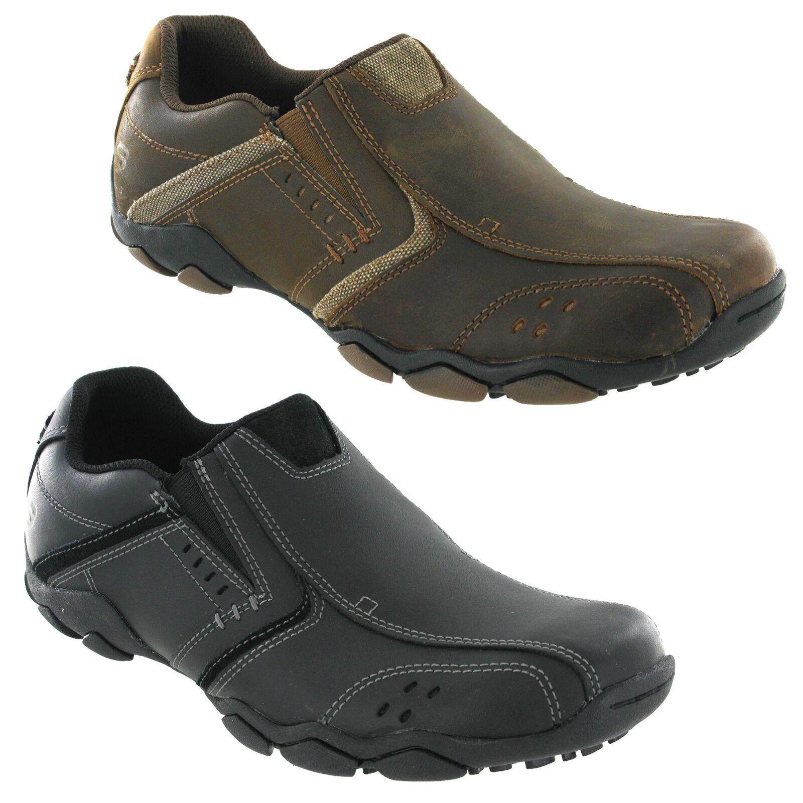 Skechers Diametro Valen Sneaker Uomo Vintage Classico MEMORY FOAM Mocassini Scarpe Scarpe classiche da uomo