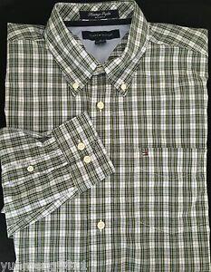Tommy Hilfiger $69.5 NWT Multi Checked Long Sleeve Dress Shirt Men
