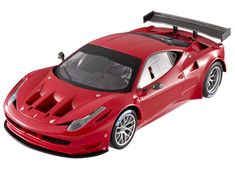 SUPER ELITE FERRARI 458 ITALIA GT2 LAUNCH VERSION röd 1  18 bil varmWklackar X5491