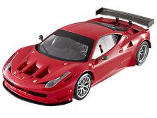 Super Elite Ferrari 458 ITALIA Gt2 Launch Version Red 1/18 Car Hotwheels X5491