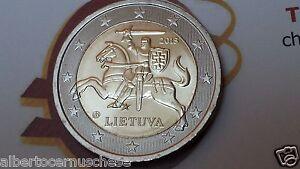 2-euro-2015-LITUANIA-cavaliere-VYTIS-Lituanie-Lithuania-Litauen-Lietuva