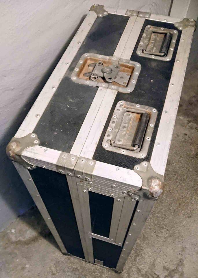 Flight Case, DANBOX Dobbelt CD + Pladeafspiller - DJ / m. m.