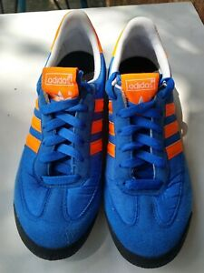Details about Adidas Dragon Shoes Kids Youth US 5 Blue Orange Rare Free Shipping