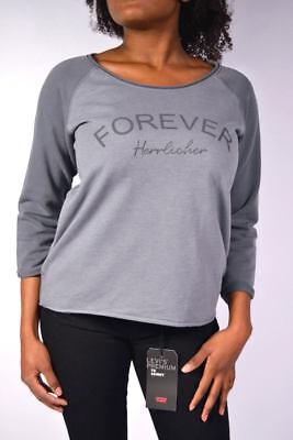 Accurato Herrlicher Sweater Benice Pullover S9115 Antra Grigio Taglia Xs/s/m/l/xl-