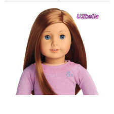NEW AMERICAN GIRL TRULY ME Doll Light Skin,Layered RED HAIR,Blue Eyes #65