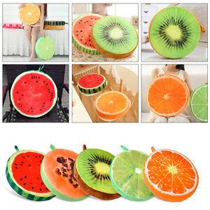 Cute 3D Fruit Pillow Sofa Car Cushion Cover Plush Toys Fruit ... 585607604aaa