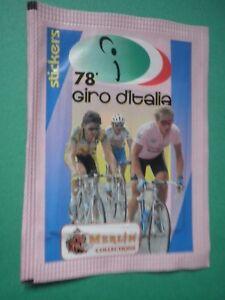 5-X-Bustina-Figurine-78-Giro-D-039-Italia-Merlin-1995-Packet-Tuten-Pochette-F7