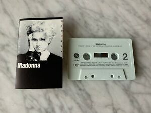 Madonna Self Titled CASSETTE Tape 1983 Sire 9 23867-4 Borderline, Holiday RARE!