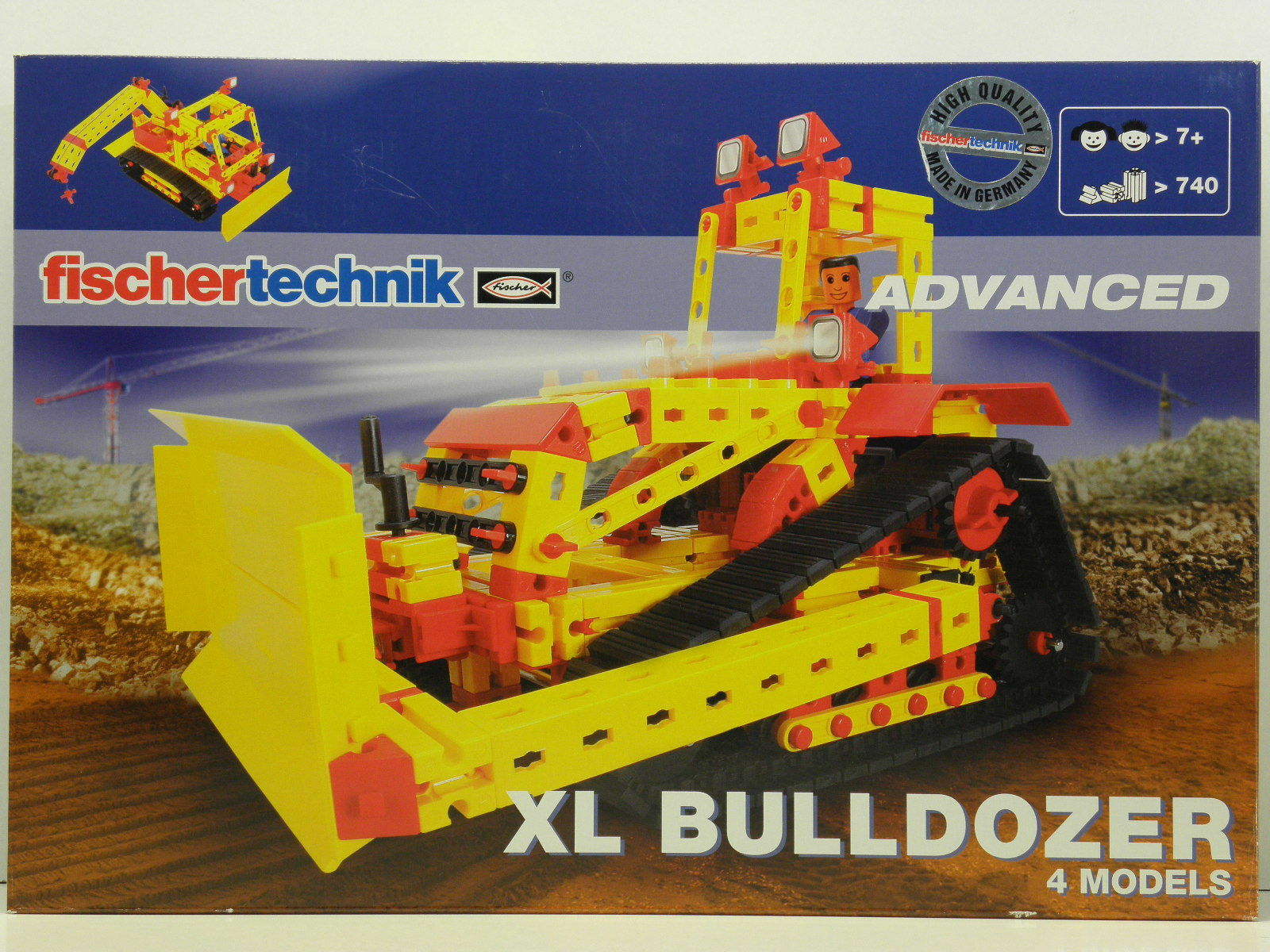 Fischertechnik 505280 Advanced Baukasten XL Bulldozer
