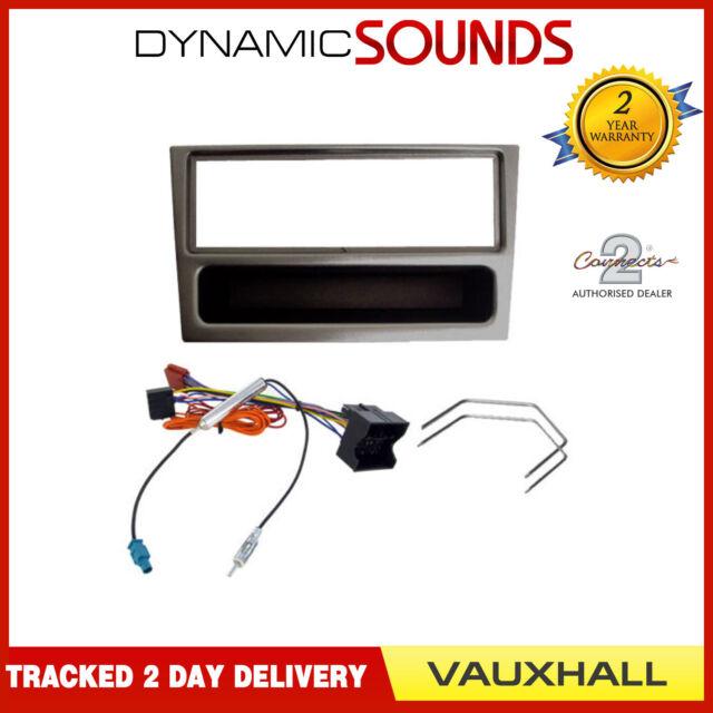 Vavaro Car CD Radio Stereo Fitting Kit Fascia Wiring ISO For Vauxhall Tigra