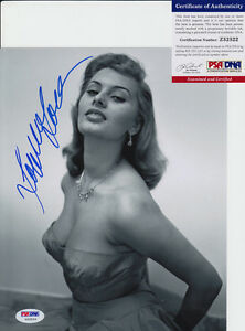 Sophia-Loren-Actress-Signed-Autograph-8x10-Photo-PSA-DNA-COA-B