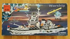 ENLIGHTEN CENTURY BUILDING BLOCK SET - LARGE 970 PC WARSHIP- LEGO COMPATIBLE NEW