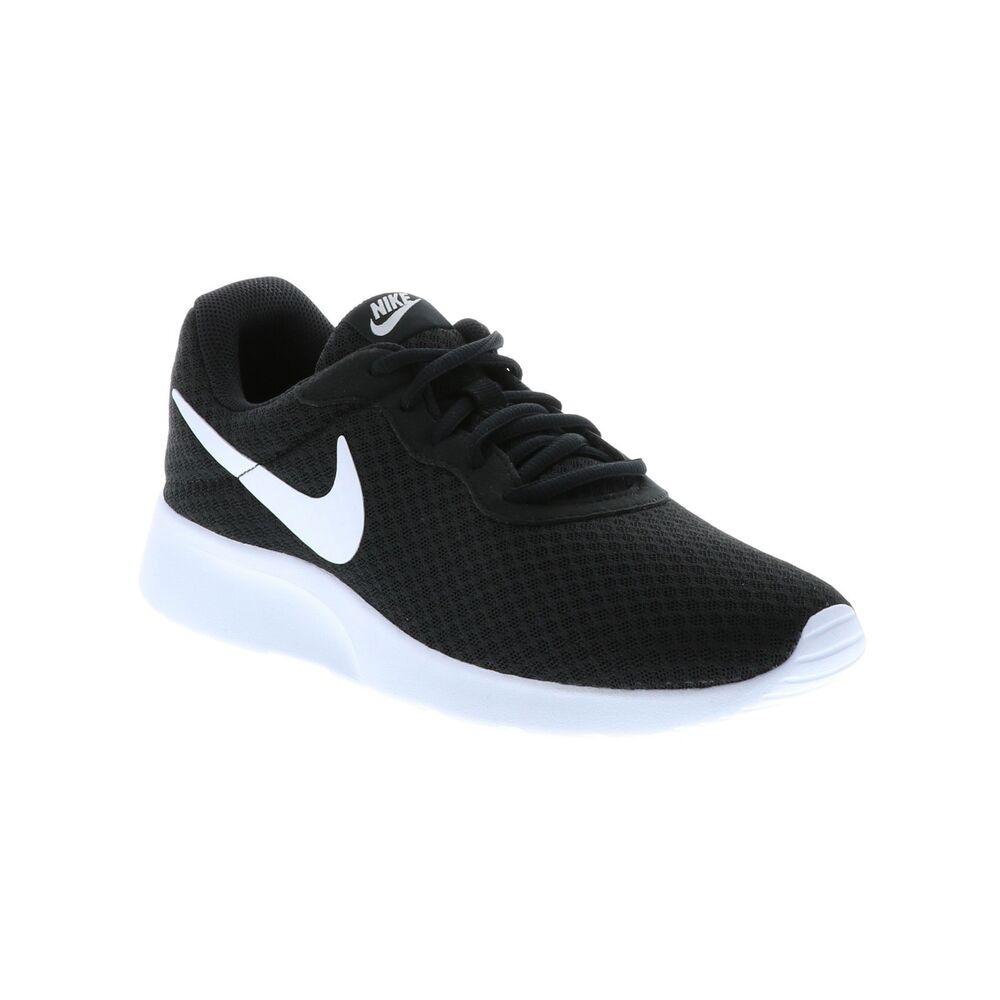 Nike Tanjun noir blanc Wide homme chaussures New In Box AQ3555 001