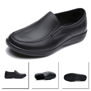 Men Chef Shoes in Kitchen Anti-slip Safety shoes Oil /& Water Proof for Cooking