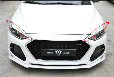 M/&S Tail Lamp Light Point Molding UNPainted For 2017 2018~ Hyundai Elantra AD
