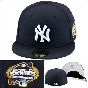 New-Era-New-York-New-York-Yankees-Fitted-Hat-2003-World-Series-Side-Patch-MLB