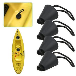 4PCS-Silicone-Kayak-Scupper-Plug-Kit-Canoe-Drain-Holes-Stopper-Bung-Accessories