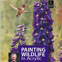Dvd: Painting Wildlife In Acrylic With Terry Isaac