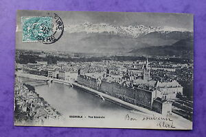 Postal-Posatle-Antigua-Postal-Grenoble-Vista-General