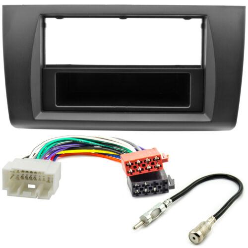 Radio diafragma ISO adaptador set para suzuki swift a partir de 2005 din marco cable antena