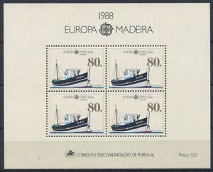 Portugal-Madeira-1988-Mi-Bl-9-Block-100-Postfrisch-EUROPA-CEPT