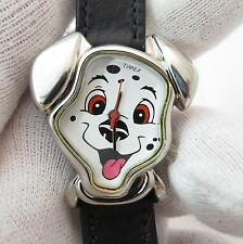 101 DALMATIONS,Timex, Lucky,3D Case,Calf Skin,LADIES/Kids CHARACTER WATCH 581