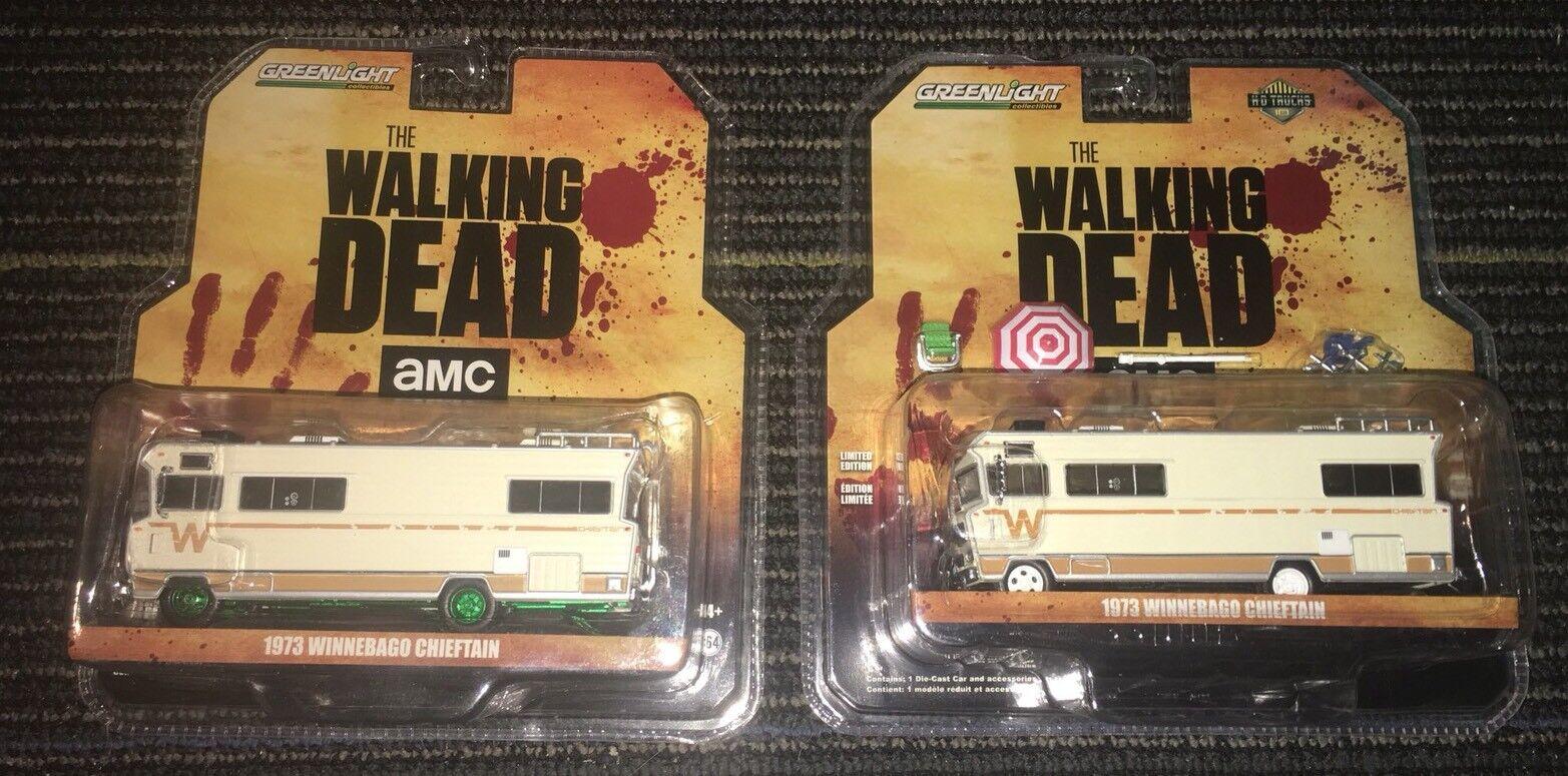 Máquina verde verdeLight verdeLight verdeLight Chase The Walking Dead 1973 73 RV Winnebago Cacique 37f692