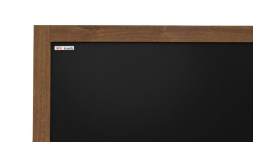 Kreidetafel mit Holzrahmen Wandtafel Schreibtafel 150x100cm Memoboard Schwarz