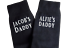 Personalised Fathers Day Gifts Socks Any Name Granddad Best Dad Step Dad Ever