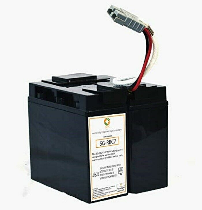 SPS BRAND 24V 18Ah Replacement RBC7 Battery Cartridge