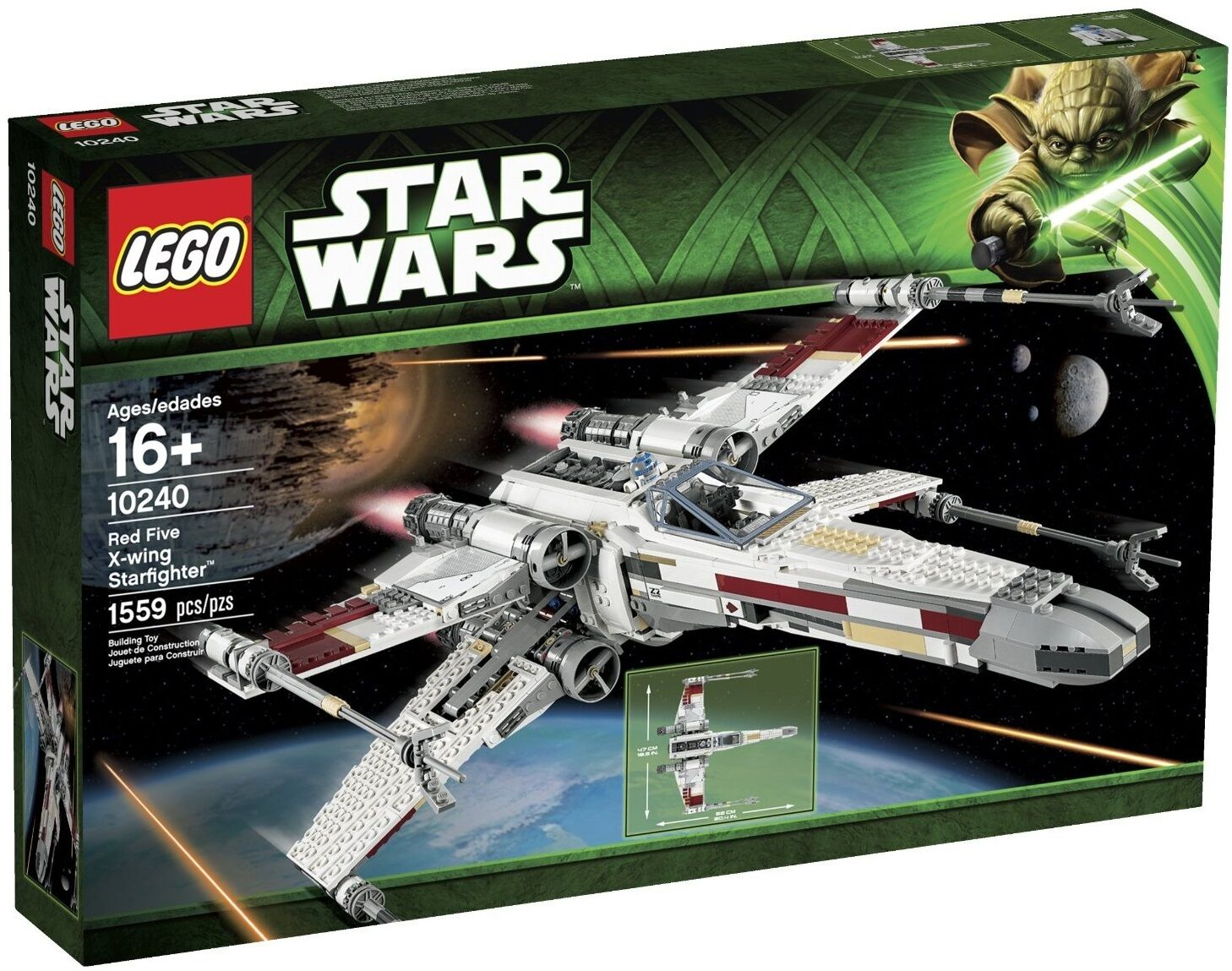 LEGO Star Wars rosso Five X-Wing Starfighter 10240 Retirosso Ultimate Collector UCS