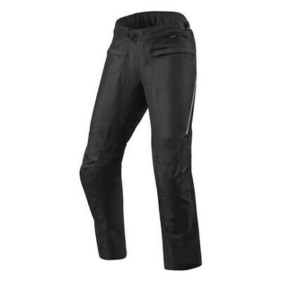 FPT091-0012-XL Rev It Factor 4 Motorcycle Trousers XL Black Short