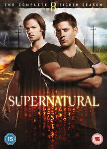 Supernatural - Season 8 Complete (DVD) Jared Padalecki, Jensen Ackles