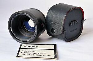 VIVITAR Variable-Close - up Lens +1~+10