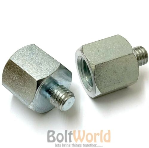 THREADED ROD REDUCER CONVERTER HEX STUD CONNECTOR SLEEVE NUTS THREAD MALE FEMALE