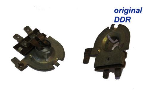 Simson Lampenfassung alte Ausführung für 6V 15W//15W für Innenliegende Zündspule