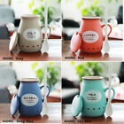 Cute Pottery Ceramic Cup Lovely Water Mug Cup Tea Coffee Milk Cup