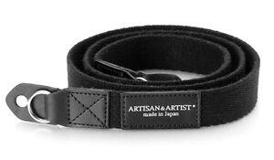 ARTISAN & ARTIST Old classic camera strap black ACAM-102 BLK / Made in Japan