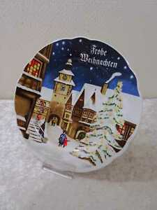 DDR Diseño Kahla Porcelana Navidad Vintage - 26,5CM
