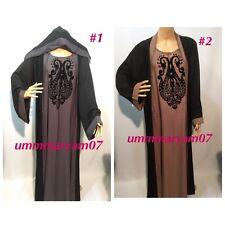 Latest Design Dubai Abaya Kaftan Farasha  Maxi Dress Abaya SIZE 52-58