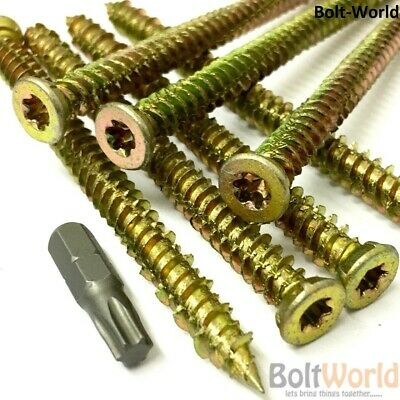 M8 X 120mm UPVC WOOD MASONRY CONCRETE ANCHOR SCREWS FOR WINDOW DOOR FRAME FIXING