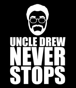 brand new def93 f9ec6 Details about Uncle Drew Never Stops shirt Kyrie Irving Movie Boston  Celtics basketball NBA